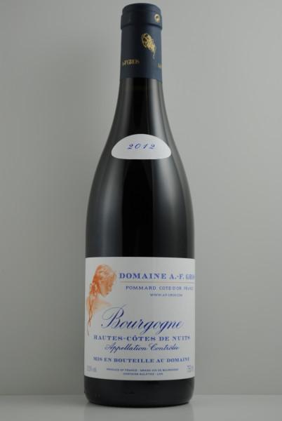 2012 Hautes Côtes de Nuits, Gros, A. F.